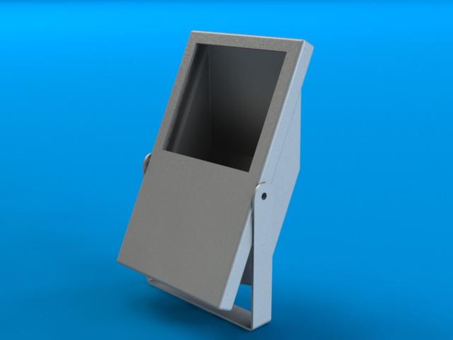 3D модель прожектора
