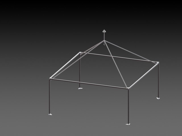 Модель каркаса