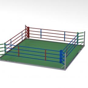 Разработана конструкция напольного ринга в раме