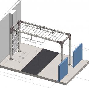 Проработка конструкции для фитнес-центра