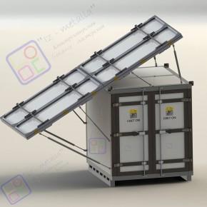 Разработка конструкции контейнерной электростанции